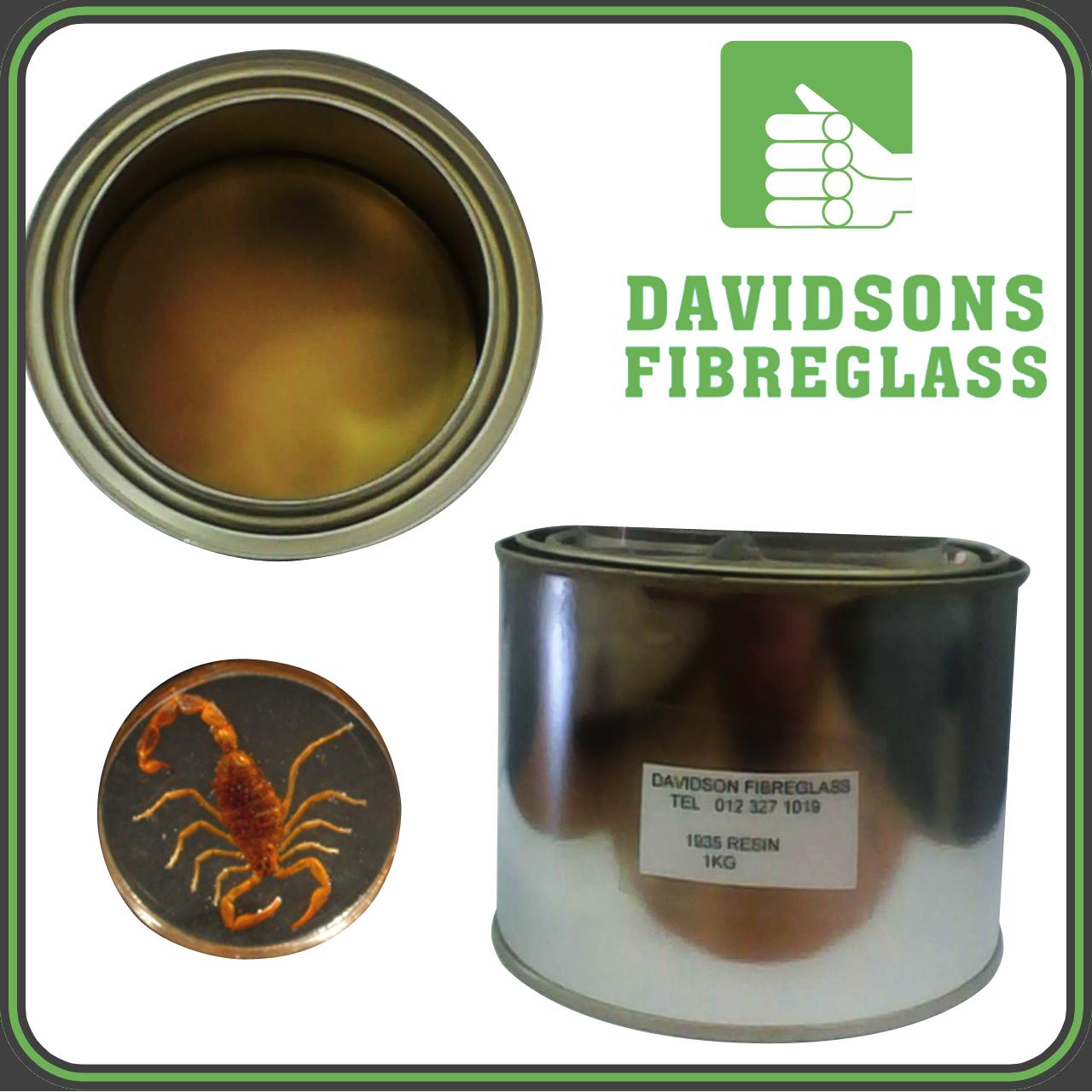 Clear Cast Resin Davidsons Fibreglass